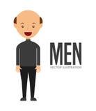 Avatar of men Stock Photography