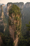Avatar Mountain. Famous Avatar Mountain in Zhangjiajie National Forest Park, Hunan Province, China Stock Photos