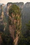 Avatar Mountain. Famous Avatar Mountain in Zhangjiajie National Forest Park, Hunan Province, China Stock Photos