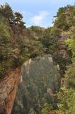Avatar Mountain. Famous Avatar Mountain in Zhangjiajie National Forest Park, Hunan Province, China Stock Image
