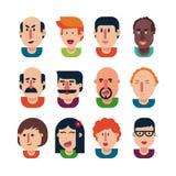 Avatar people set Stock Image