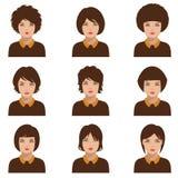 Avatar people , woman Stock Photos