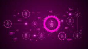 avatar roverspictogram Van geplaatst Avatars vector illustratie