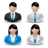 Avatar set. Avatar man women vector illustration Royalty Free Stock Photo
