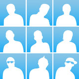 Avatar set Royalty Free Stock Image