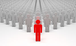Avatar (symbolic figures of people) Stock Photo