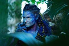 Avatar vrouw royalty-vrije stock fotografie