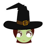 Avatar of a witch Royalty Free Stock Photos