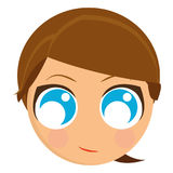 Avatar of a woman Stock Images