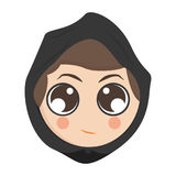 Avatar of a woman Royalty Free Stock Photos
