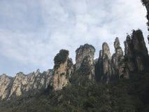 Avatar Zhangjiajie gór parkowa natura Fotografia Stock