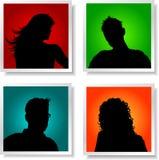 Avatares de la gente Foto de archivo libre de regalías