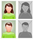 Avatars Stock Photo