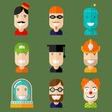 avatars Photos stock