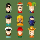 avatars Fotografia de Stock