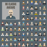 Avatars clássicos Imagem de Stock
