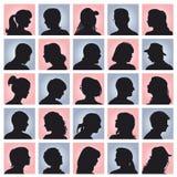 Avatars de personnes Illustration de Vecteur