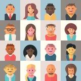 Avatars de personnes Image libre de droits