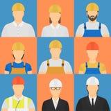 Avatars dos construtores Fotografia de Stock Royalty Free
