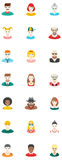 Avatars Flat Icons Stock Photo