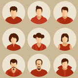 Avatars Stock Images