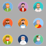 Avatars set. Stock Photography