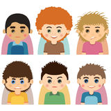 Avatars-01 Royalty Free Stock Image