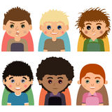 Avatars-02 Stock Photography