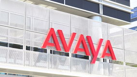 Avaya公司总部修造 股票视频