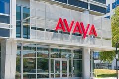 Avaya kwater głównych Korporacyjny Budować Zdjęcia Stock