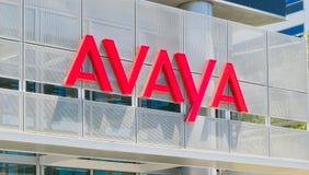 Avaya kwater głównych Korporacyjny Budować Obraz Royalty Free