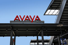 Avaya Soccer Stadium Home de San Jose Earthquakes foto de stock