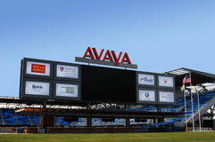 Avaya Soccer Stadium Home de San Jose Earthquakes imagem de stock royalty free