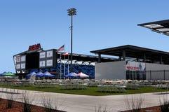 Avaya Soccer Stadium Home di San Jose Earthquakes fotografia stock libera da diritti