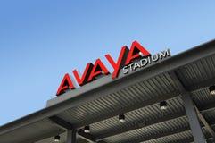 Avaya Soccer Stadium Home of San Jose Earthquakes. SAN JOSE, CALIFORNIA - MARCH 21: Avaya Stadium The New Home Of The San Jose Earthquakes Soccer Team March 21 Stock Images