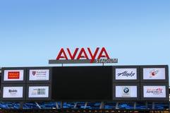 Avaya Soccer Stadium Home of San Jose Earthquakes. SAN JOSE, CALIFORNIA - MARCH 21: Avaya Stadium The New Home Of The San Jose Earthquakes Soccer Team March 21 Royalty Free Stock Image