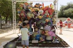 Avbilda att motsvara till lekplatsen för barn` s av Florida Plaz fotografering för bildbyråer
