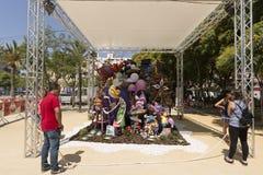 Avbilda att motsvara till lekplatsen för barn` s av Florida Plaz arkivbild