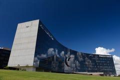 Överlägsen arbetedomstol i Brasilia Arkivfoto