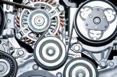 Avbilda av en motor. Royaltyfri Fotografi