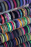 Flätat armband Arkivbild