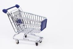 Shoppingvagn Royaltyfri Foto