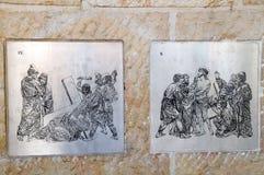 Avbildar av 9th, och 10th posterar Royaltyfri Fotografi