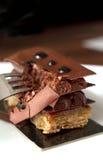 Avbrott av chokladfrestelse Arkivbilder