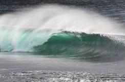avbrott av den irländska waven Arkivbilder