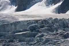 avbrott av glaciären Royaltyfri Foto