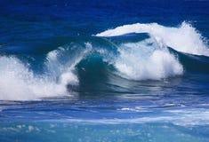 avbrott av kröna waves Royaltyfri Fotografi