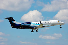 Avcon Jet Embraer EMB-135 Royalty Free Stock Photography