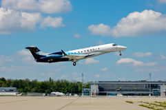 Avcon Jet Embraer EMB-135 Royalty Free Stock Images