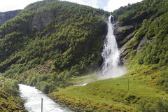 Avdalsfossen Royalty Free Stock Images